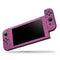 Sparkling Pink Ultra Metallic Glitter - Full Body Skin Decal Wrap Kit for Nintendo Switch Console & Dock, Pro Controller, Switch Lite, 3DS XL, 2DS XL, DSi, Wii