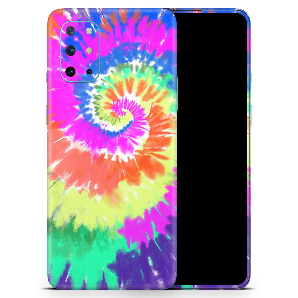 Spiral Tie Dye V1 - Full Body Skin Decal Wrap Kit for OnePlus Phones