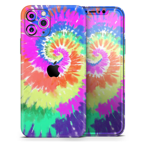 Spiral Tie Dye V1 - Skin-Kit for the Apple iPhone 11, 11 Pro or 11 Pro Max