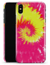 Spiral Tie Dye V2 - iPhone X Clipit Case