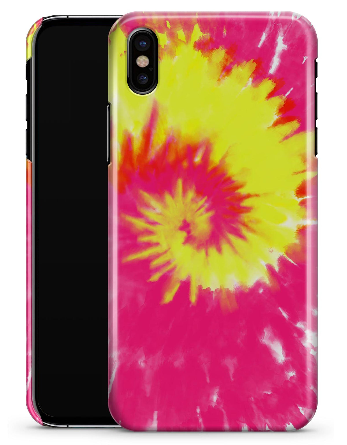 reputable site 69a29 135c3 Spiral Tie Dye V2 - iPhone X Clipit Case