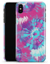 Spiral Tie Dye V5 - iPhone X Clipit Case