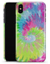 Spiral Tie Dye V7 - iPhone X Clipit Case