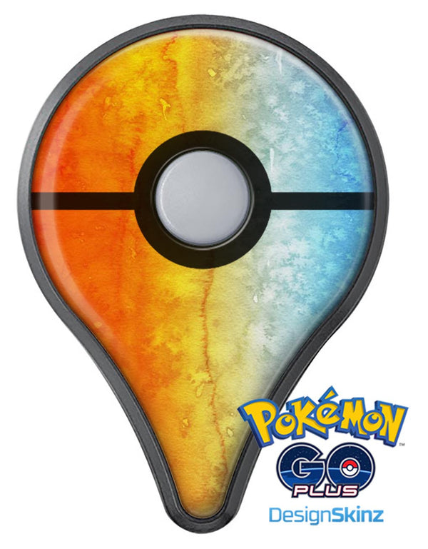 Splattered 4823 Absorbed Watercolor Texture Pokémon GO Plus Vinyl Protective Decal Skin Kit