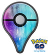 Splattered Ocean 4823 Absorbed Watercolor Texture Pokémon GO Plus Vinyl Protective Decal Skin Kit