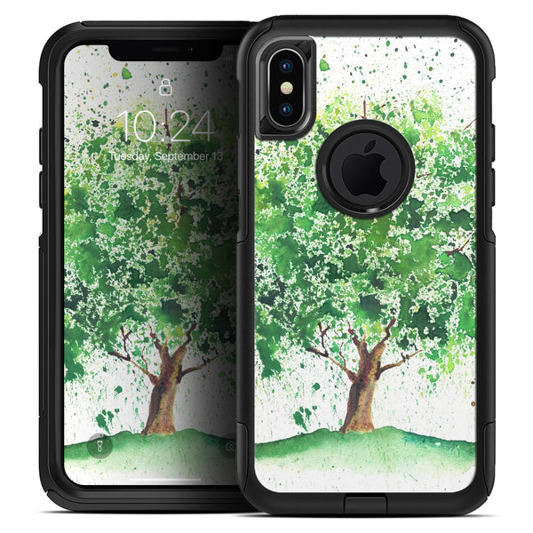 Splattered Watercolor Tree of Life - Skin Kit for the iPhone OtterBox Cases