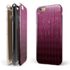 Sprakling Pink Orbs Over Burgundy Diamonds iPhone 6/6s or 6/6s Plus 2-Piece Hybrid INK-Fuzed Case