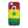 Starred Green, Red and Yellow Brick Wall Skin for the iPhone 5c OtterBox Commuter Case