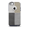 Straight Burlap Skin for the iPhone 5c OtterBox Commuter Case