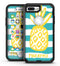 Striped Mint and Gold Pineapple - iPhone 7 Plus/8 Plus OtterBox Case & Skin Kits