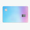 Subtle Tie-Dye Tone - Premium Protective Decal Skin-Kit for the Apple Credit Card