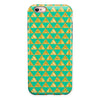 Summer Green and Gold v1 iPhone 6/6s or 6/6s Plus 2-Piece Hybrid INK-Fuzed Case