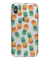 Summer Pineapple Seamless v1 - Crystal Clear Hard Case for the iPhone XS MAX, XS & More (ALL AVAILABLE)