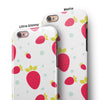 Summer Strawberries v1 iPhone 6/6s or 6/6s Plus 2-Piece Hybrid INK-Fuzed Case