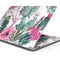 "Summer Watercolor Floral v2 - Skin Decal Wrap Kit Compatible with the Apple MacBook Pro, Pro with Touch Bar or Air (11"", 12"", 13"", 15"" & 16"" - All Versions Available)"