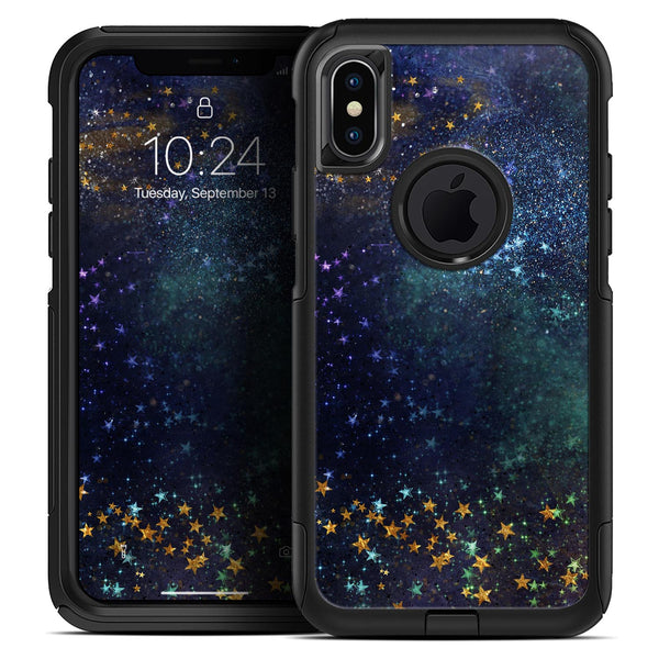 Swirling Multicolor Star Explosion  - Skin Kit for the iPhone OtterBox Cases