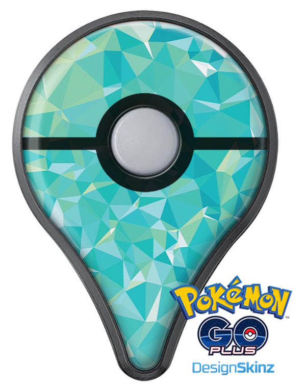 Teal Geometric V13 Pokémon GO Plus Vinyl Protective Decal Skin Kit