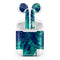Teal Oil Mixture - Full Body Skin Decal Wrap Kit for the Wireless Bluetooth Apple Airpods Pro, AirPods Gen 1 or Gen 2 with Wireless Charging