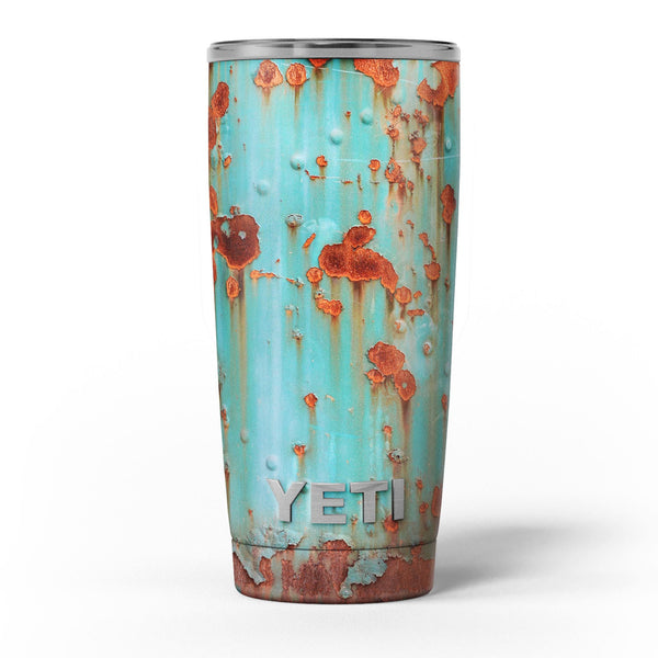 Teal_Painted_Rustic_Metal_-_Yeti_Rambler_Skin_Kit_-_20oz_-_V5.jpg