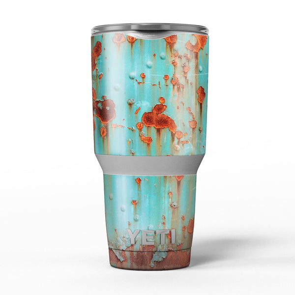 Teal_Painted_Rustic_Metal_-_Yeti_Rambler_Skin_Kit_-_30oz_-_V5.jpg