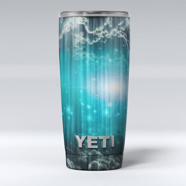 Teal_Twilight_Zone_with_Strikes_of_Lightening_-_Yeti_Rambler_Skin_Kit_-_20oz_-_V1.jpg