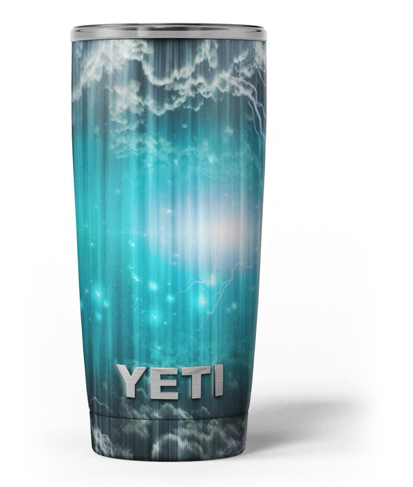 Teal_Twilight_Zone_with_Strikes_of_Lightening_-_Yeti_Rambler_Skin_Kit_-_20oz_-_V3.jpg