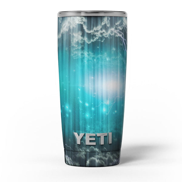 Teal_Twilight_Zone_with_Strikes_of_Lightening_-_Yeti_Rambler_Skin_Kit_-_20oz_-_V5.jpg
