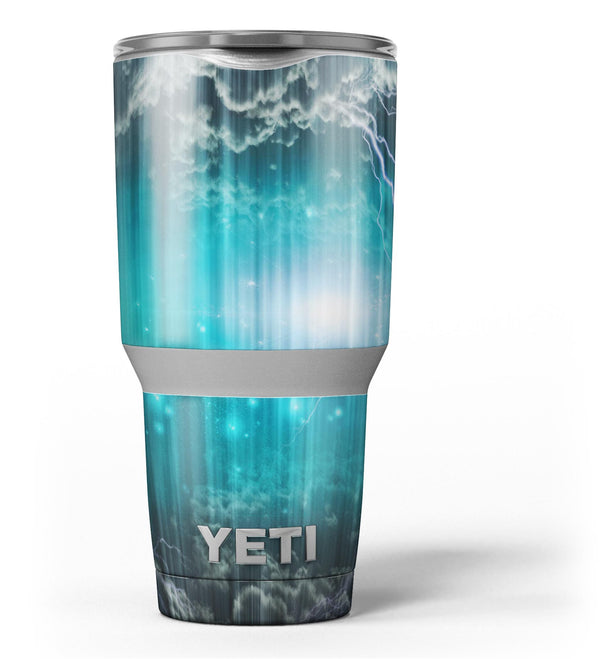 Teal_Twilight_Zone_with_Strikes_of_Lightening_-_Yeti_Rambler_Skin_Kit_-_30oz_-_V3.jpg
