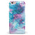 Teal to Pink 434 Absorbed Watercolor Texture iPhone 6/6s or 6/6s Plus INK-Fuzed Case