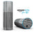 Textured Gray Dyed Surface - Full-Body Skin-Kit for the Amazon Echo
