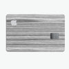 Textured Gray Dyed Surface - Premium Protective Decal Skin-Kit for the Apple Credit Card