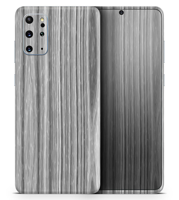 Textured Gray Dyed Surface - Skin-Kit for the Samsung Galaxy S-Series S20, S20 Plus, S20 Ultra , S10 & others (All Galaxy Devices Available)