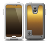 The Gold Shimmer Surface Skin for the Samsung Galaxy S5 frē LifeProof Case