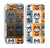 The Retro Cats with Accessories Skin for the Apple iPhone 5c