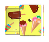 The 3d Icecream Treat Collage Skin Set for the Apple iPad Air 2