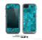 The Abstact Blue Tiled Skin for the Apple iPhone 5c LifeProof Case