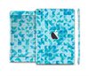 The Abstarct Blue Triangular Cubes Full Body Skin Set for the Apple iPad Mini 2