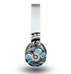 The Abstract Black & Blue Paisley Waves Skin for the Beats by Dre Original Solo-Solo HD Headphones