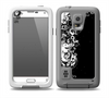The Abstract Black & White Swirls Skin for the Samsung Galaxy S5 frē LifeProof Case