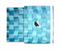 The Abstract Blue Cubed Full Body Skin Set for the Apple iPad Mini 2