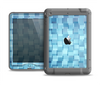 The Abstract Blue Cubed Apple iPad Mini LifeProof Nuud Case Skin Set