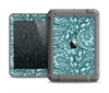 The Abstract Blue Feather Paisley Apple iPad Mini LifeProof Fre Case Skin Set