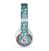 The Abstract Blue Feather Paisley Skin for the Beats by Dre Studio (2013+ Version) Headphones