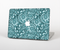 The Abstract Blue Feather Paisley for the Apple MacBook Pro Retina 15""