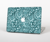The Abstract Blue Feather Paisley for the Apple MacBook Pro Retina 13""
