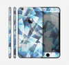 The Abstract Blue Overlay Shapes Skin for the Apple iPhone 6 Plus