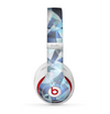 The Abstract Blue Overlay Shapes Skin for the Beats by Dre Studio (2013+ Version) Headphones
