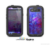 The Abstract Blue & Pink Surface Skin For The Samsung Galaxy S3 LifeProof Case