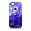 The Abstract Blue & Pink Surface Skin for the iPhone 5c OtterBox Commuter Case