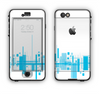 The Abstract Blue Skyline View Apple iPhone 6 LifeProof Nuud Case Skin Set